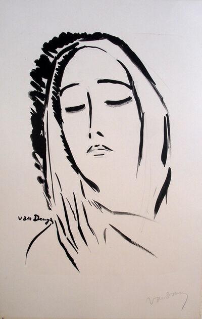 Kees van Dongen, 'L'Écharpe', 1925