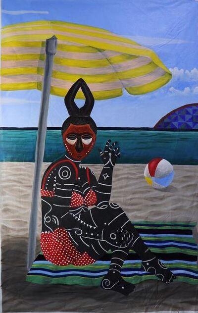 Kelechi Nwaneri, 'Tourist by Beach', 2020