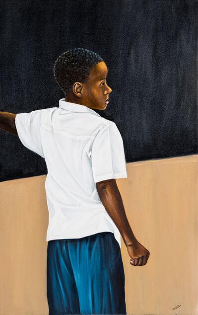 Zemba Musiri Lutanda Luzamba, 'Black Board', 2017
