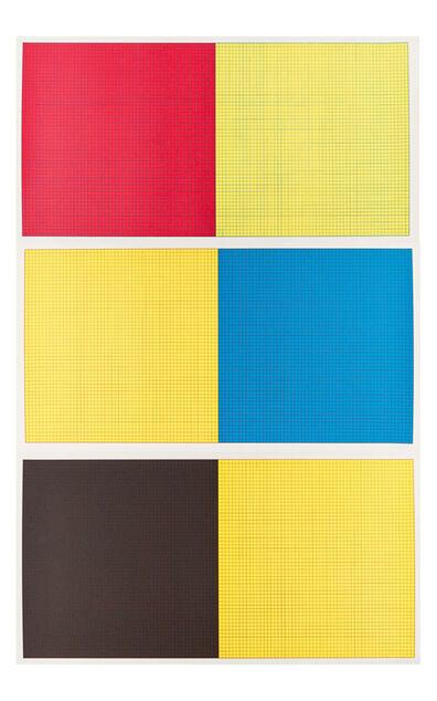 Sol LeWitt, 'Grids & Colours (Set of Three)', 1979