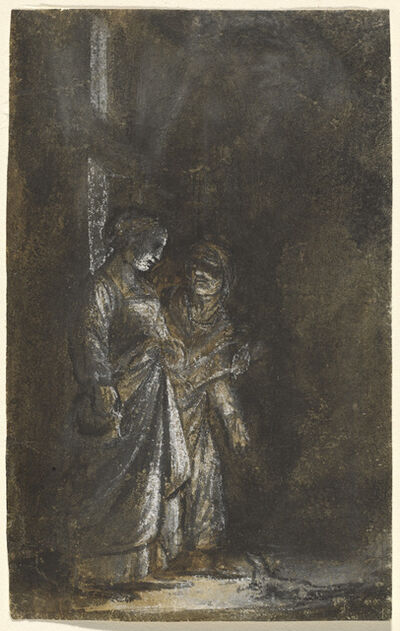 Adam Elsheimer, 'Ceres Changes Stellio into a Lizard', 1605/1608