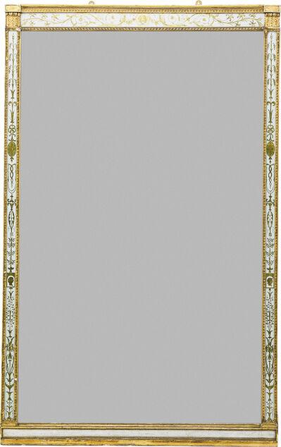 Style of George III, 'George III Style Giltwood Mirror', 19th c.