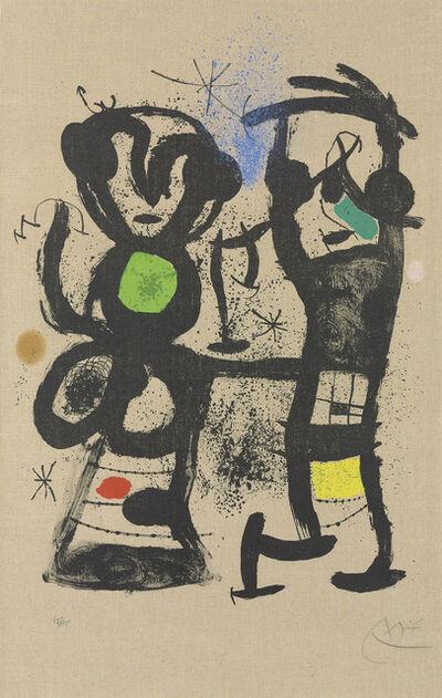 Joan Miró, 'La conversation', 1969