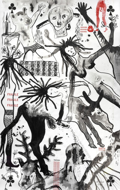 Barthélémy Toguo, 'Rain on a private Garden I', 2006