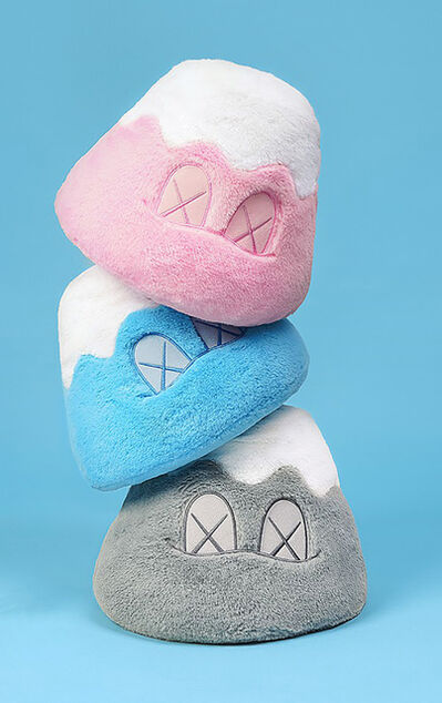 KAWS, 'KAWS plush Holiday Mt. Fuji Japan (complete set of 3)', 2019