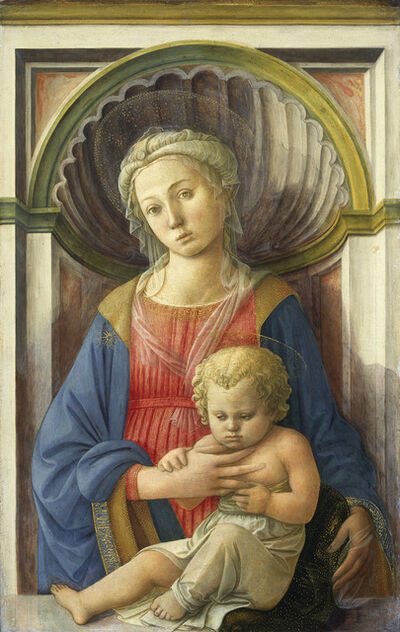 Fra Filippo Lippi, 'Madonna and Child', ca. 1440