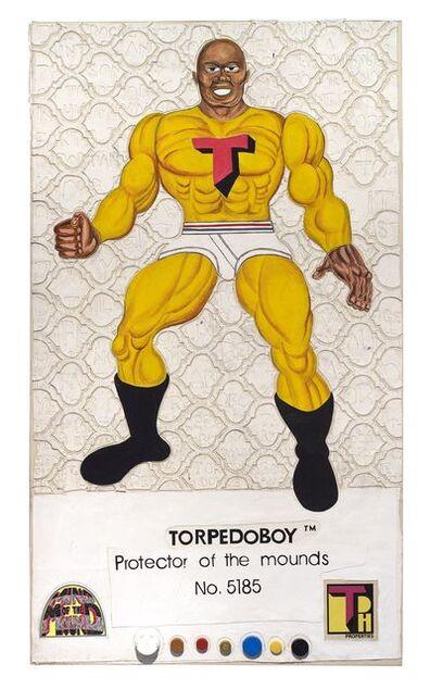 Trenton Doyle Hancock, '8 Back Icon Series: Torpedoboy- Protector of the Mounds, No. 5185', 2016