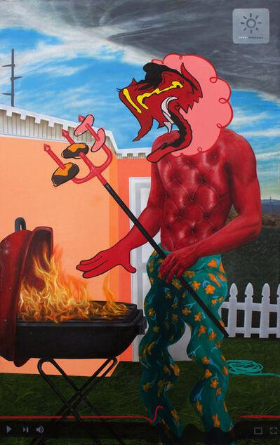 Trey Abdella, 'Backyard BBQ', 2018