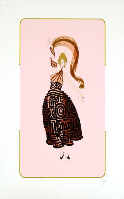 Erté (Romain de Tirtoff), 'Flamenco', 1987
