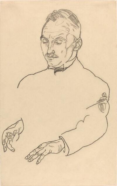 Egon Schiele, 'Dr. Koller', ca. 1918