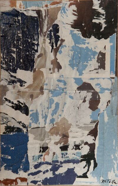 Mimmo Rotella, 'UNTITLED', ca. 1992