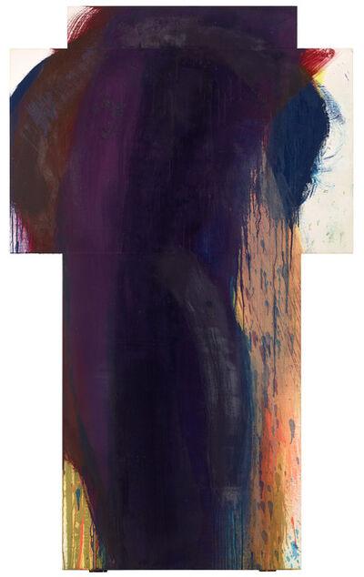 Arnulf Rainer, 'Dunkle Figur', 1990-1991