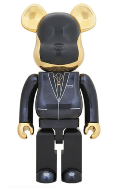 Medicom Toy, 'BE@RBRICK X DAFT PUNK Random Access Memories 1000% (Gold)', 2018