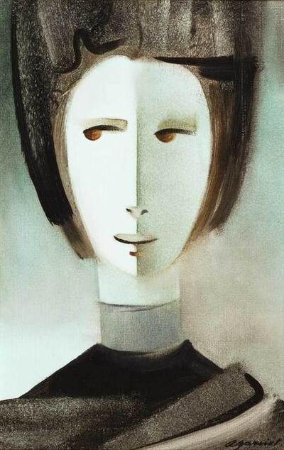 Armando Barrios, 'Retrato', Late 20th Century