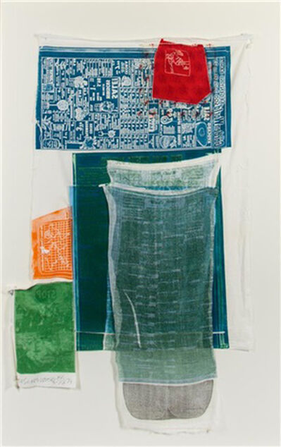 Robert Rauschenberg, 'Platter (from Airport Series)', 1974