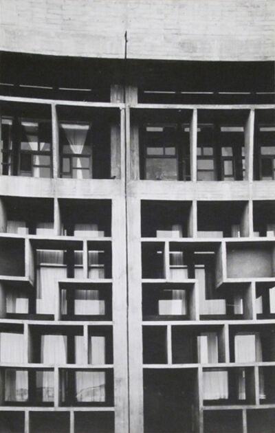 Lucien Hervé, 'Haute cour à Chandigarh', 1955