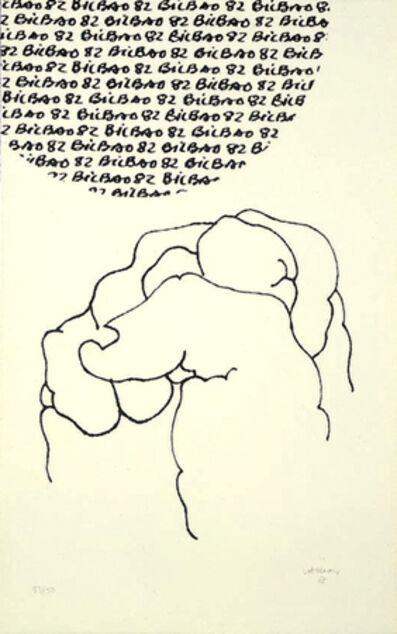 Eduardo Chillida, 'Bilbao, Copa del Mundo', 1982