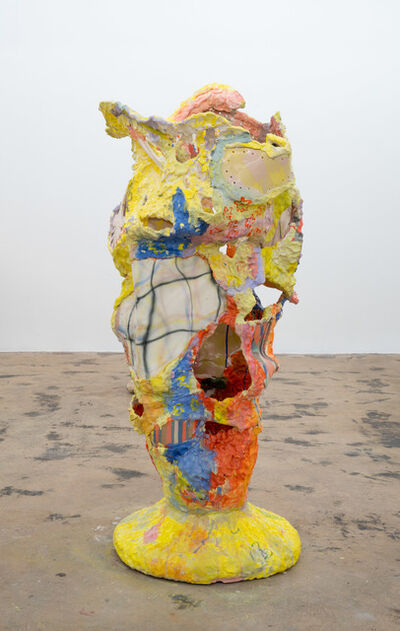 Katie Stout, 'Patch Vessel (Yellow)', 2020
