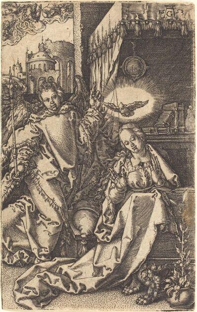 Heinrich Aldegrever, 'The Annunciation', 1553