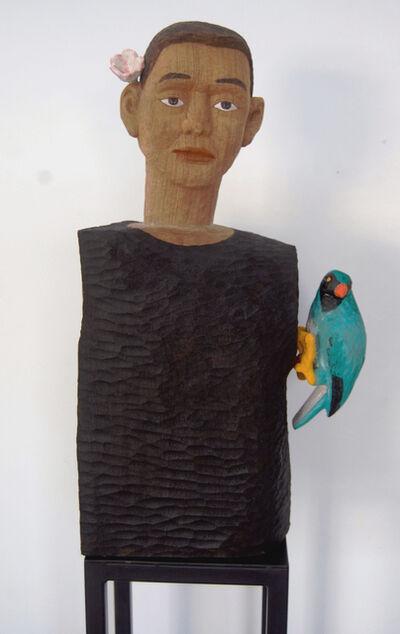 Soo Ngee Lim, 'Man with Bird', 2016