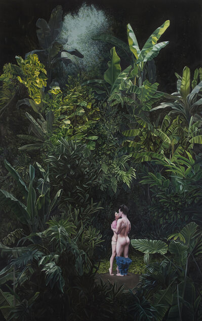 José Pedro Godoy, 'Cae la noche tropical (under a tropical night)', 2014