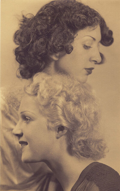 Laure Albin-Guillot, 'Portrait of Two Women', 1930s/1930s
