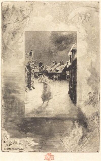 Félix Hilaire Buhot, 'Le Bas-Hamet', 1879/1880