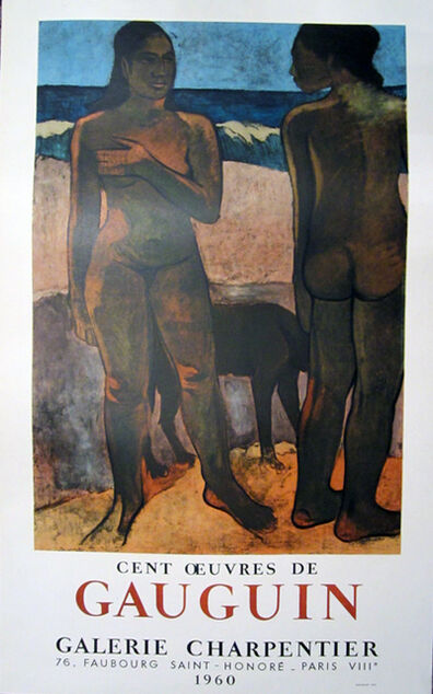 Paul Gauguin, 'Cest Oeuvres de Gauguin, Galerie Charpentier', 1960