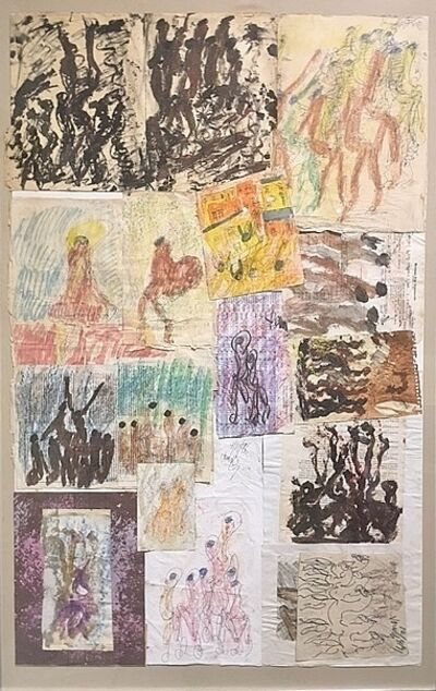 Purvis Young, 'Untitled (Collage 42)', 1980-1990