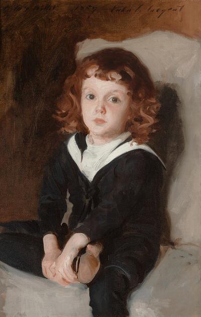 John Singer Sargent, 'Portrait of Laurence Millet', 1887