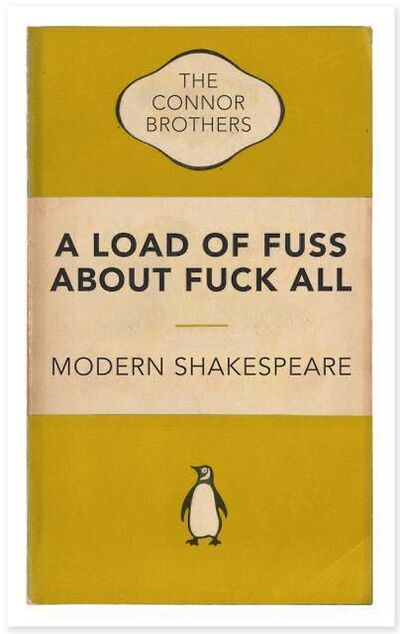 The Connor Brothers, 'A Load of Fuss About F*** All (Yellow)', 2021