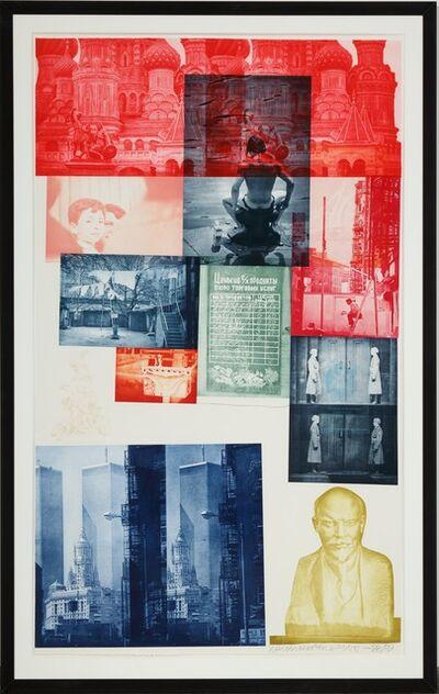 Robert Rauschenberg, 'Soviet Array I', 1988-1989