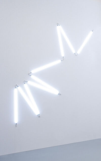 François Morellet, ' π piquant neonly n. 7 1=12°', 2007