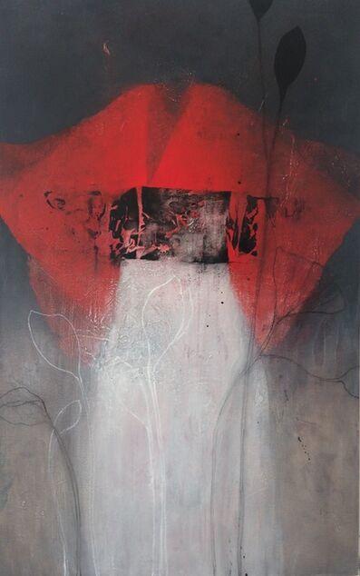 Nathalie Deshairs, 'Kimono rouge et blanc', 2019