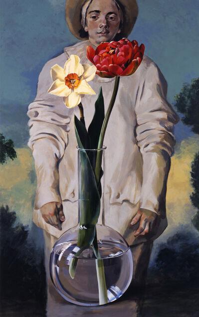Ben Schonzeit, 'Giles and Two Flowers'
