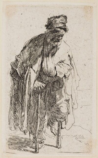 Rembrandt van Rijn, 'Beggar with a wooden leg', circa 1631