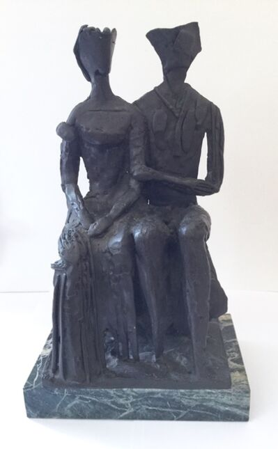 Gilbert Franklin, 'King and Queen', 1982