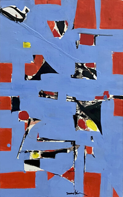 Beatrice Mandelman, 'No. 7 Blue (80-P53)', ca. 1986