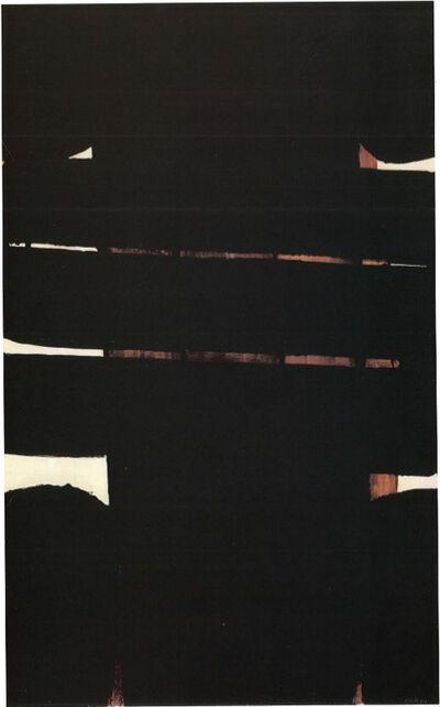 Pierre Soulages, 'Peinture 202 x 125 cm, 25 novembre 1975', 1975