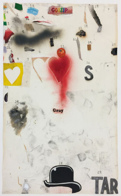 Jim Dine, 'Gossip', 1970