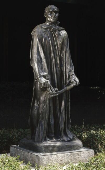 Auguste Rodin, 'Jean d'Aire', First modeled ca. 1886; this cast 1972