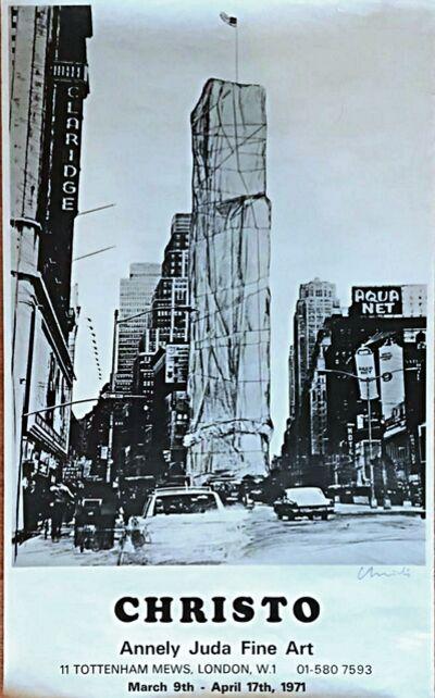 Christo, 'Christo (Hand Signed)', 1971