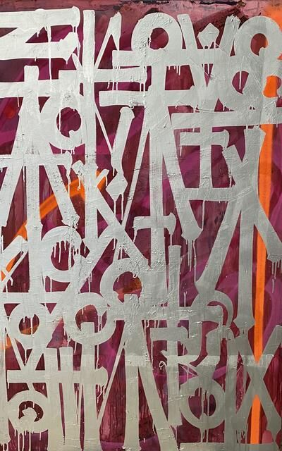 RETNA, 'Untitled Canvas XIX', 2018