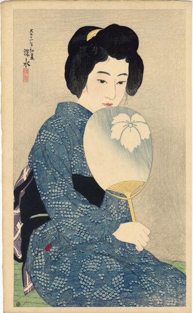 Itō Shinsui, 'Summer Kimono', 1922