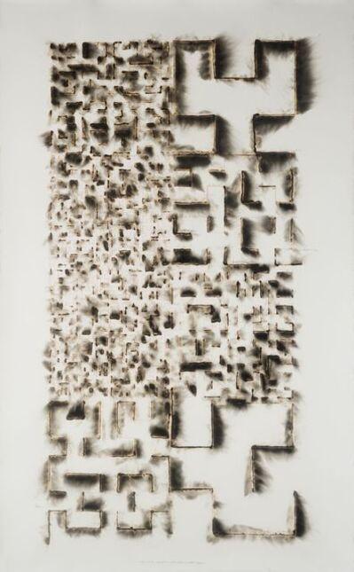 Jitish Kallat, 'Wind Study (Hilbert Curve)', 2018