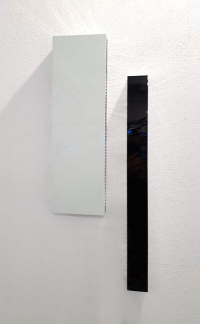 Christoph Dahlhausen, 'Bodies Duo (SW/weiss)', 2020