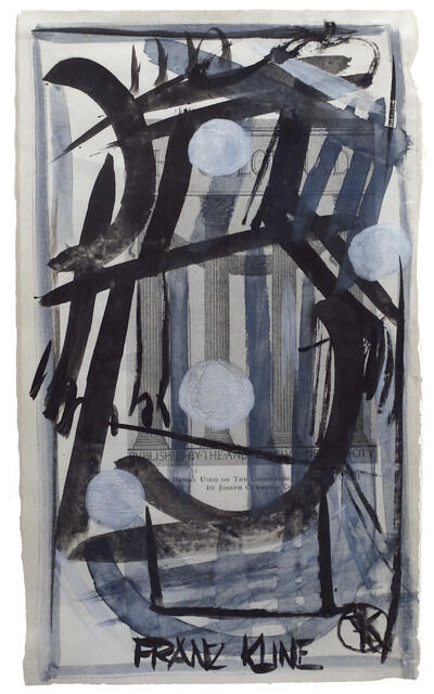 Franz Kline, 'Colonnade', ca. 1945