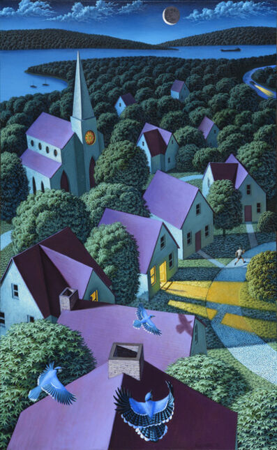 Leonard Koscianski, 'Blue Jay Way'