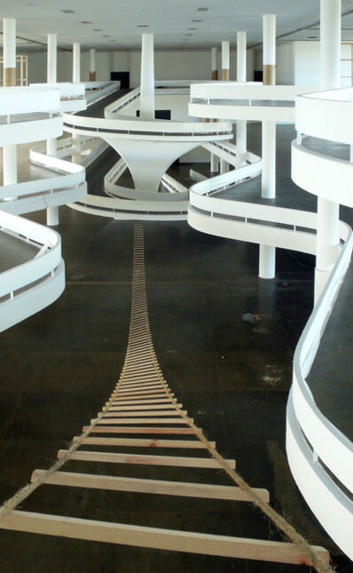 """Rochelle Costi, 'Residência - Escada Descida da série """"Residência""""', 2010"""