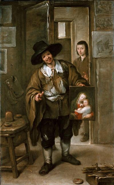 José Antolínez, 'Atelierszene (Der Bildhändler)', ca. 1670